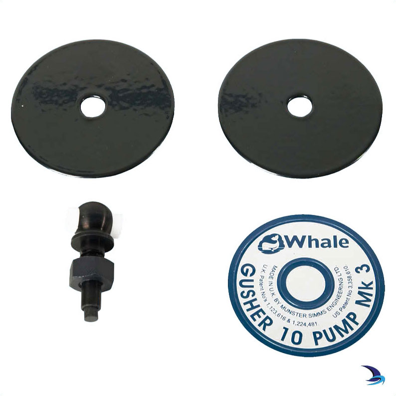 Whale - Eyebolt & Clamp Plate Assembly for Whale Gusher® 10